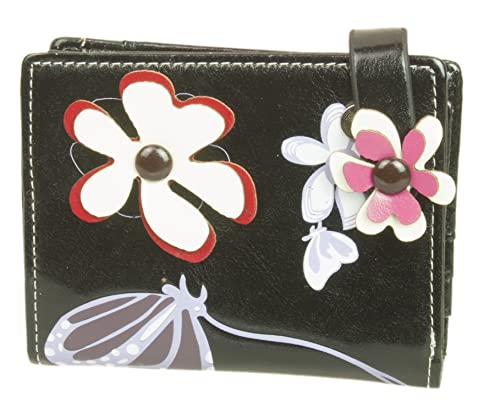 Girly HandBags Flores Mariposas Estampado Brillante Monedero ...