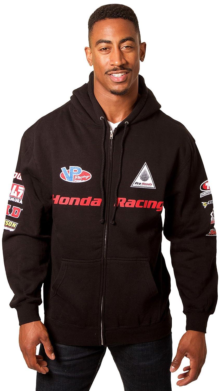 JH DESIGN GROUP Men/'s Honda Hoodie with Multiple Logos a Sweatshirt for Men HON903RAC4