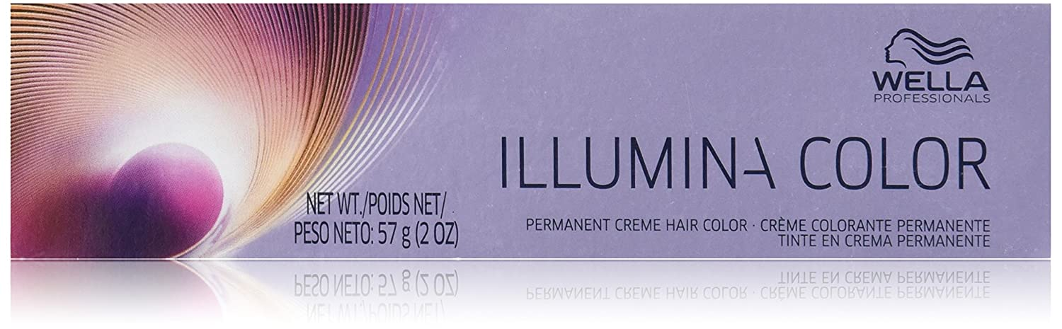 Wella Illumina Permanent Creme Hair Color 10 69 Lighter Blonde Violet Cendre 2 Ounce Beauty