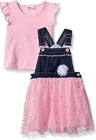 Little Lass Baby Girls 2 Pc Disco Dot Diaper Set