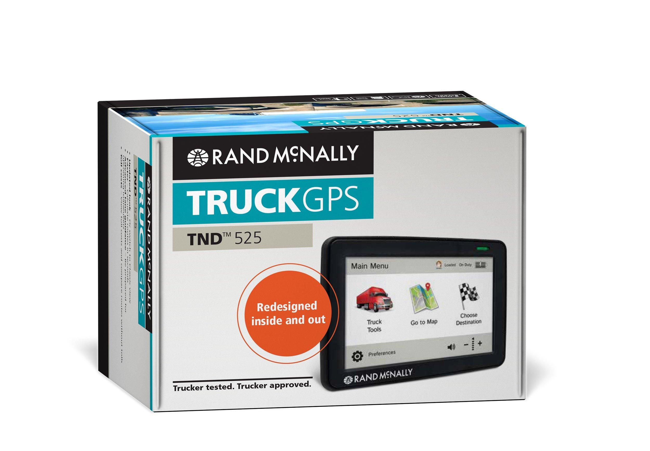Rand McNally IntelliRoute TND 525 Truck GPS by Rand McNally