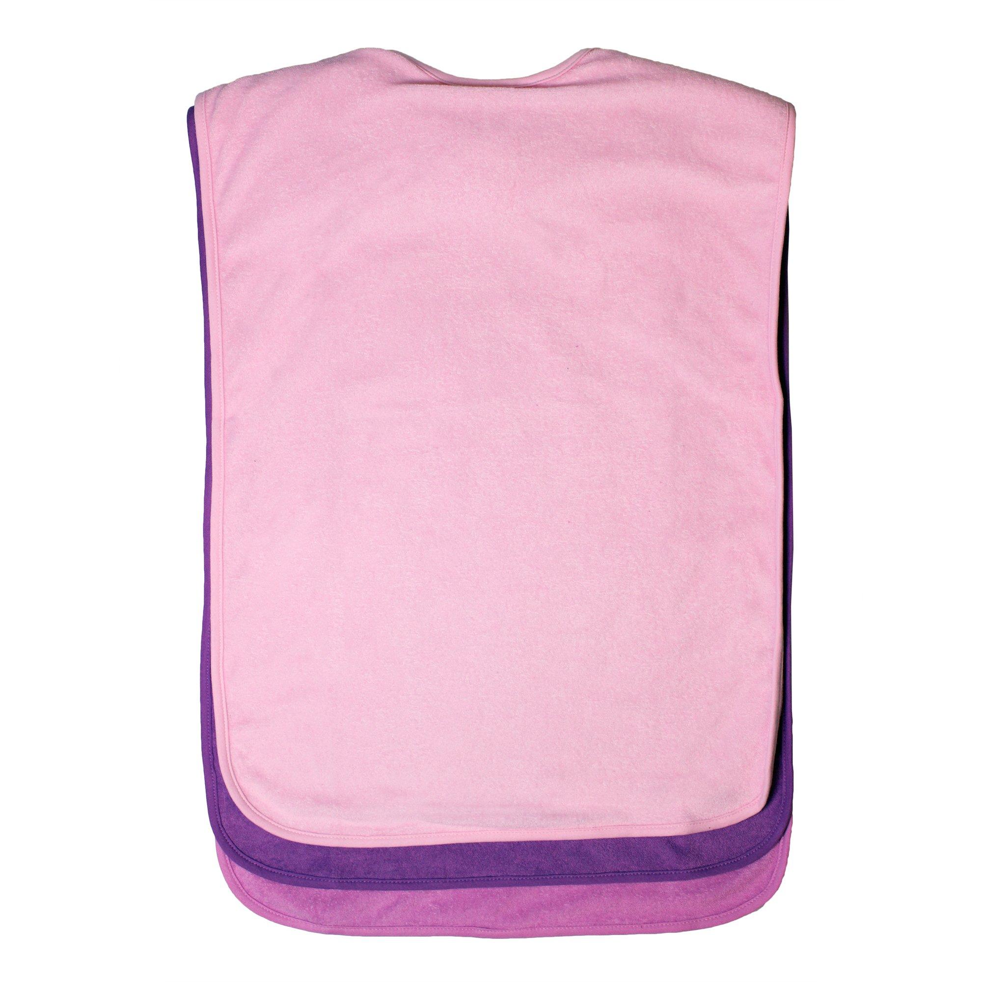 Ladies Adult Waterproof Bibs, 3 pack, Frenchie Mini Couture