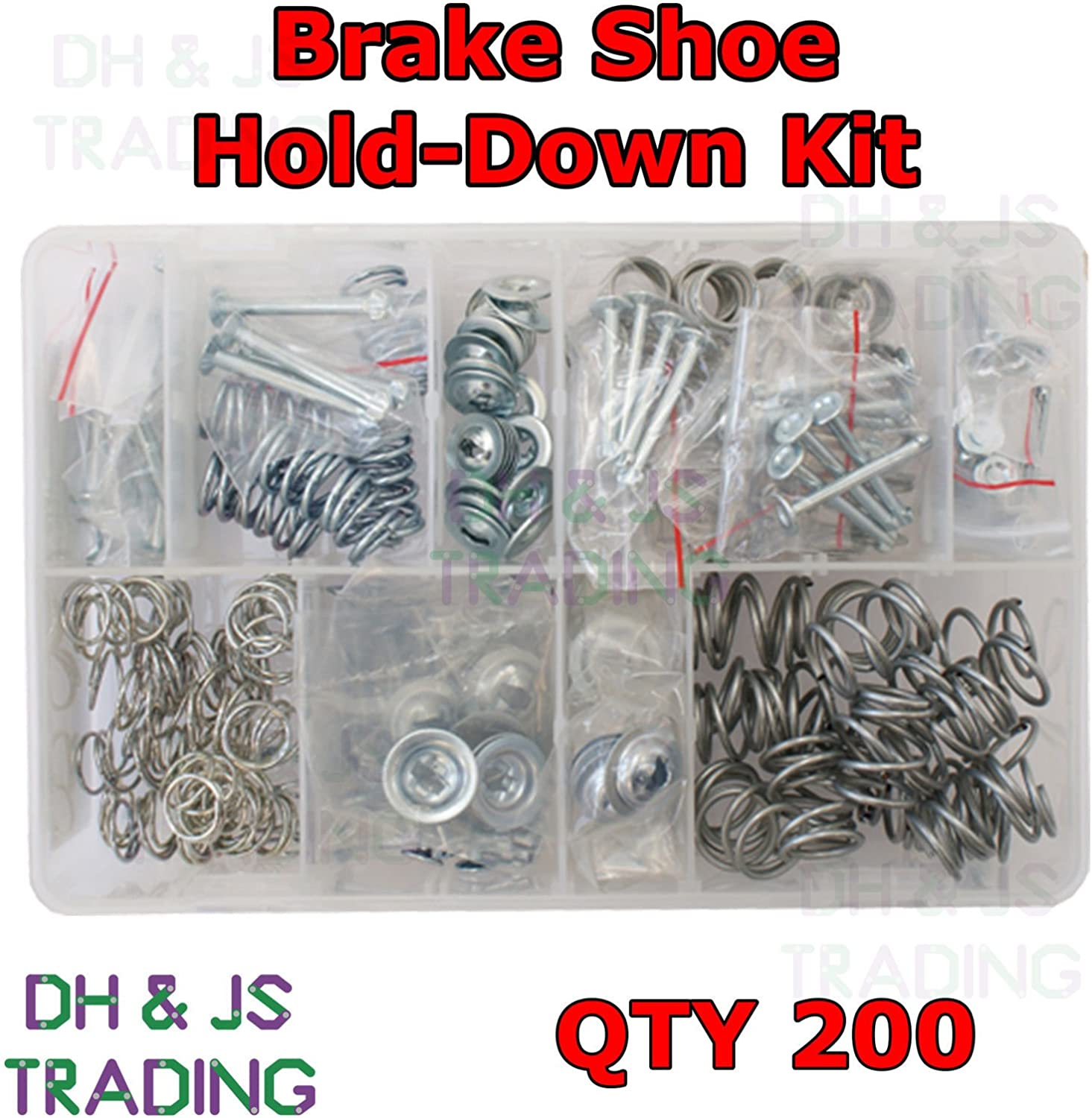 Assorted Box of Brake Shoe Hold-down Kit  QTY 200 AT106