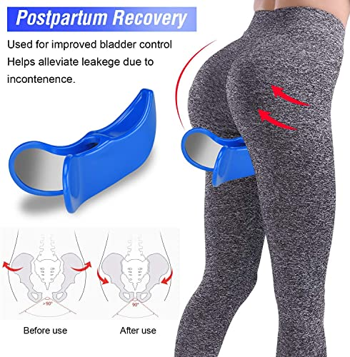 Premium Pelvic Floor Muscle Medial Trainer Hip Trainer Buttocks Lifting Correction Beautiful Buttocks Bladder Control Device Yoga Body Shape Tools for Women
