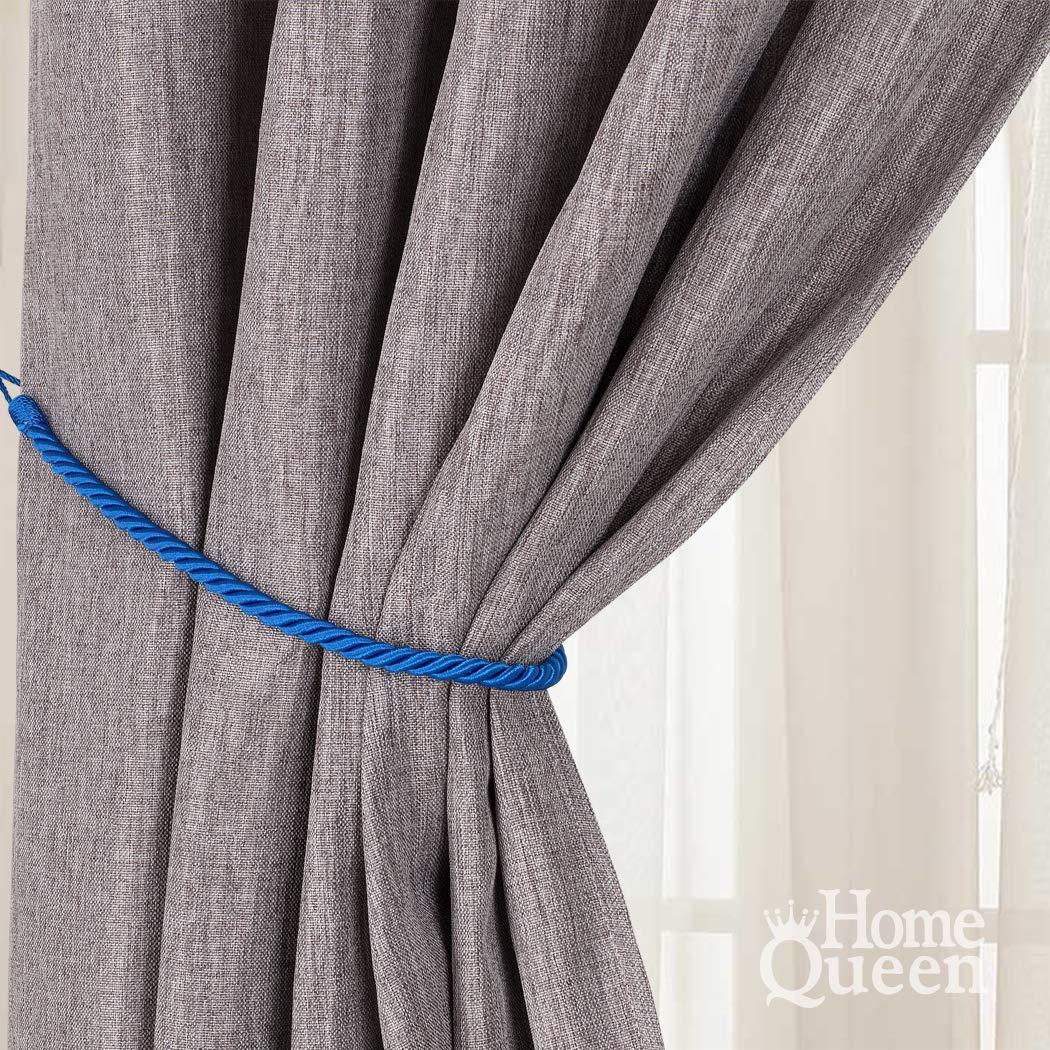 Cotton Rope Celtic Heart Curtain Tie-backs Nautical Style Curtain Ties Rope Tie backs Curtain Hold backs Shabby Chic Window Treatment