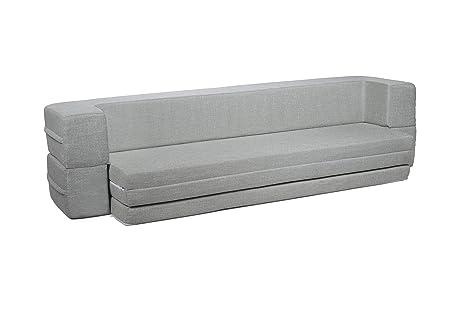 Amazon.com: Milliard sofá cama sofá cama Queen to Twin ...