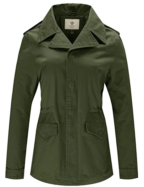 Amazon.com: WenVen Spring - Chaqueta para mujer: Clothing