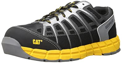Caterpillar Men's Flex Comp Toe Work Athletic Oxford, Black, ...