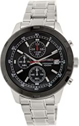 Seiko Mens SKS427 Analog Display Japanese Quartz Stainless Steel Watch