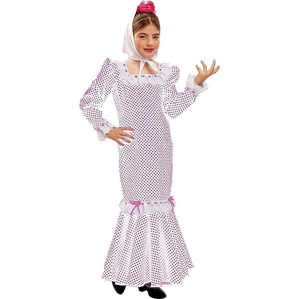 My Other Me Me - Disfraz de madrileña para niña, talla 7-9 años ...