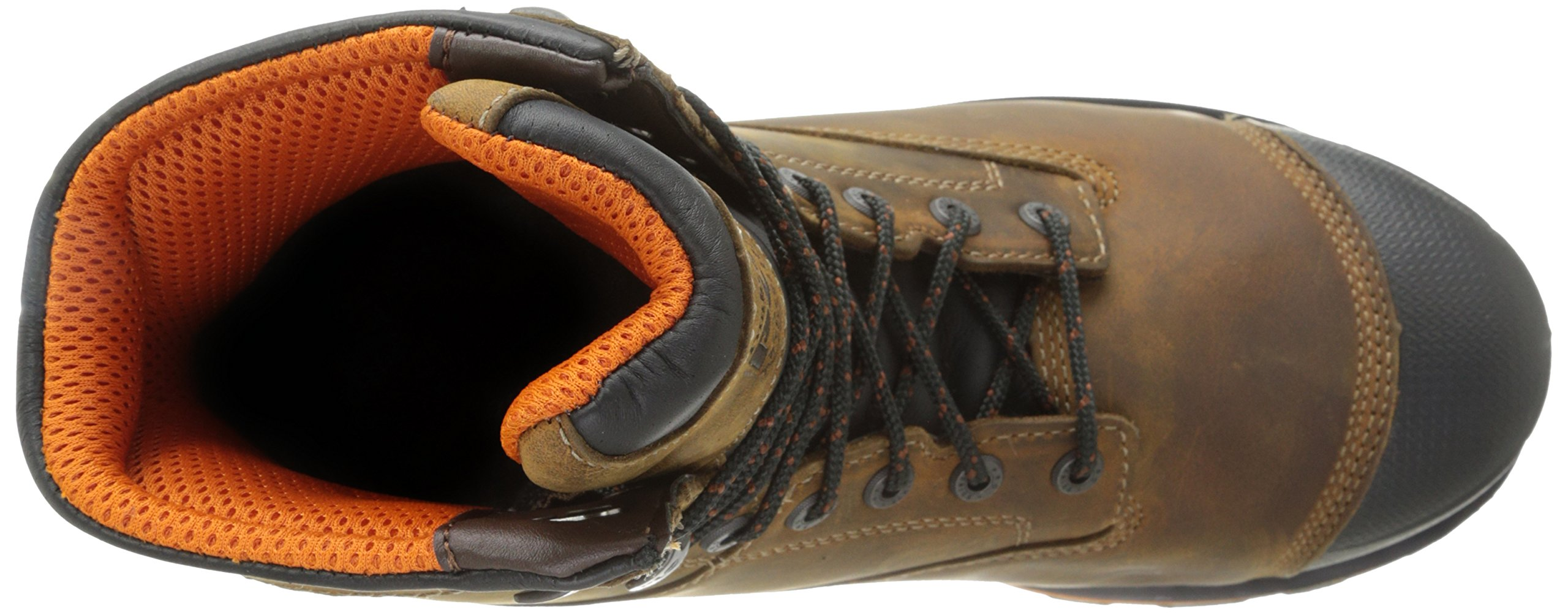 Timberland PRO Men's 8 Inch Boondock Composite Toe Waterproof Industrial Work Boot,Brown Oiled Distressed Leather,7.5 W US by Timberland PRO (Image #8)