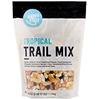 Amazon Brand - Happy Belly Tropical Trail Mix, 44 ounce