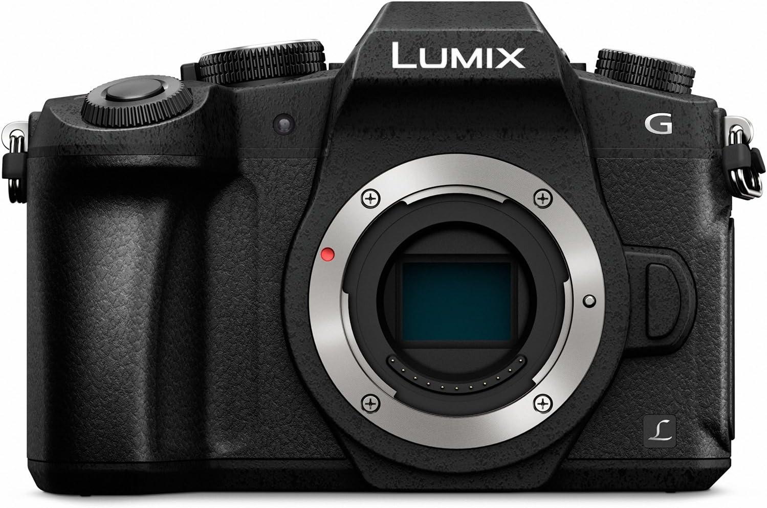 Amazon Com Panasonic Lumix G85 Body 4k Mirrorless Camera Inbody Dual I S 2 0 16 Megapixels 3 Inch Touch Lcd Dmc G85kbody Usa Black Camera Photo