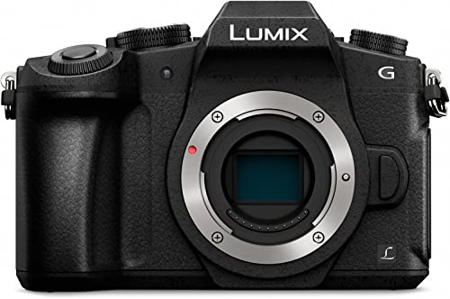 Panasonic LUMIX G85 16MP 4K Mirrorless Digital Camera(USA BLACK)