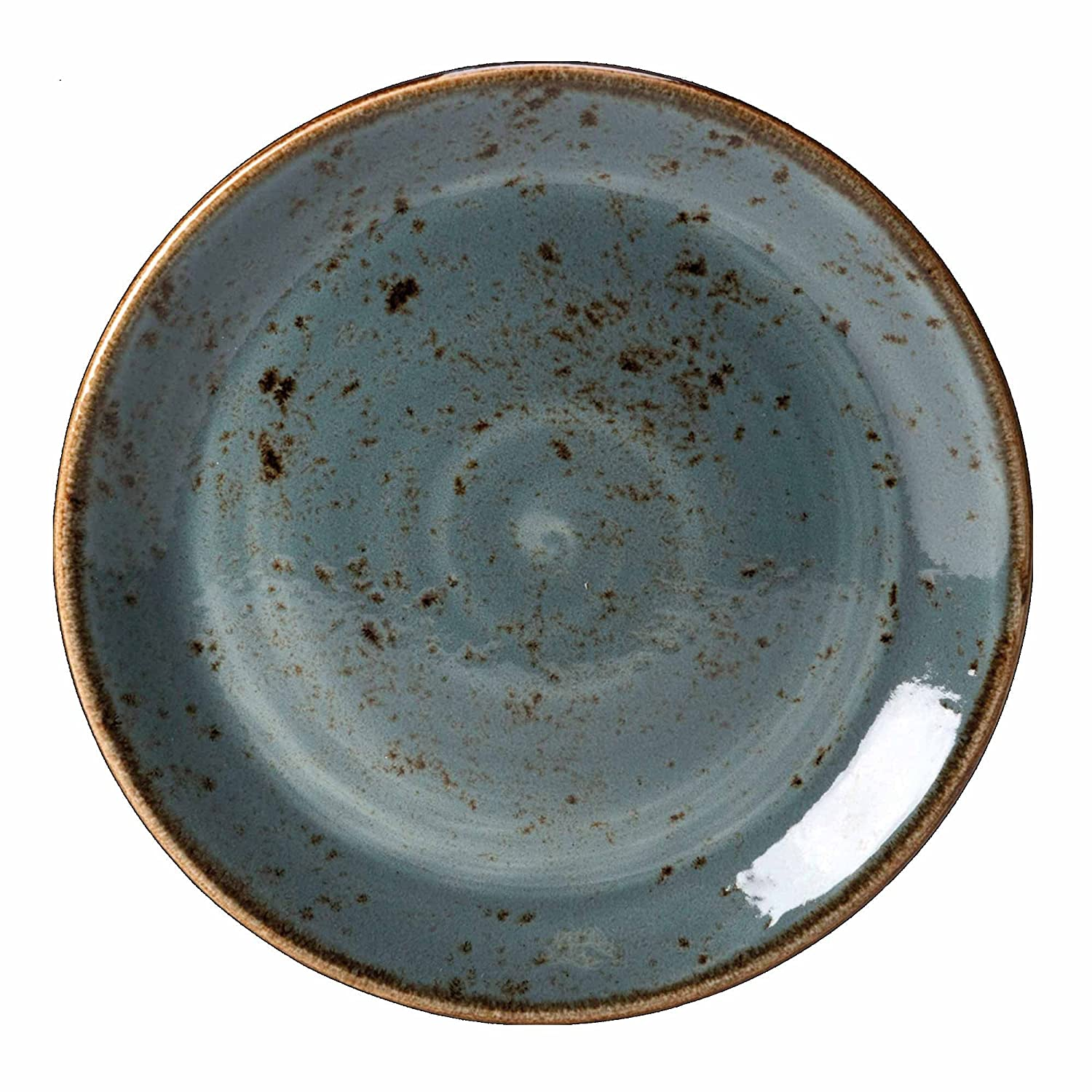 Steelite Craft Coupe Plate Blue 6 /15.25cm- Side Plates Plates Vitrified Crockery Tableware Amazon.co.uk Kitchen u0026 Home  sc 1 st  Amazon UK & Steelite Craft Coupe Plate Blue 6