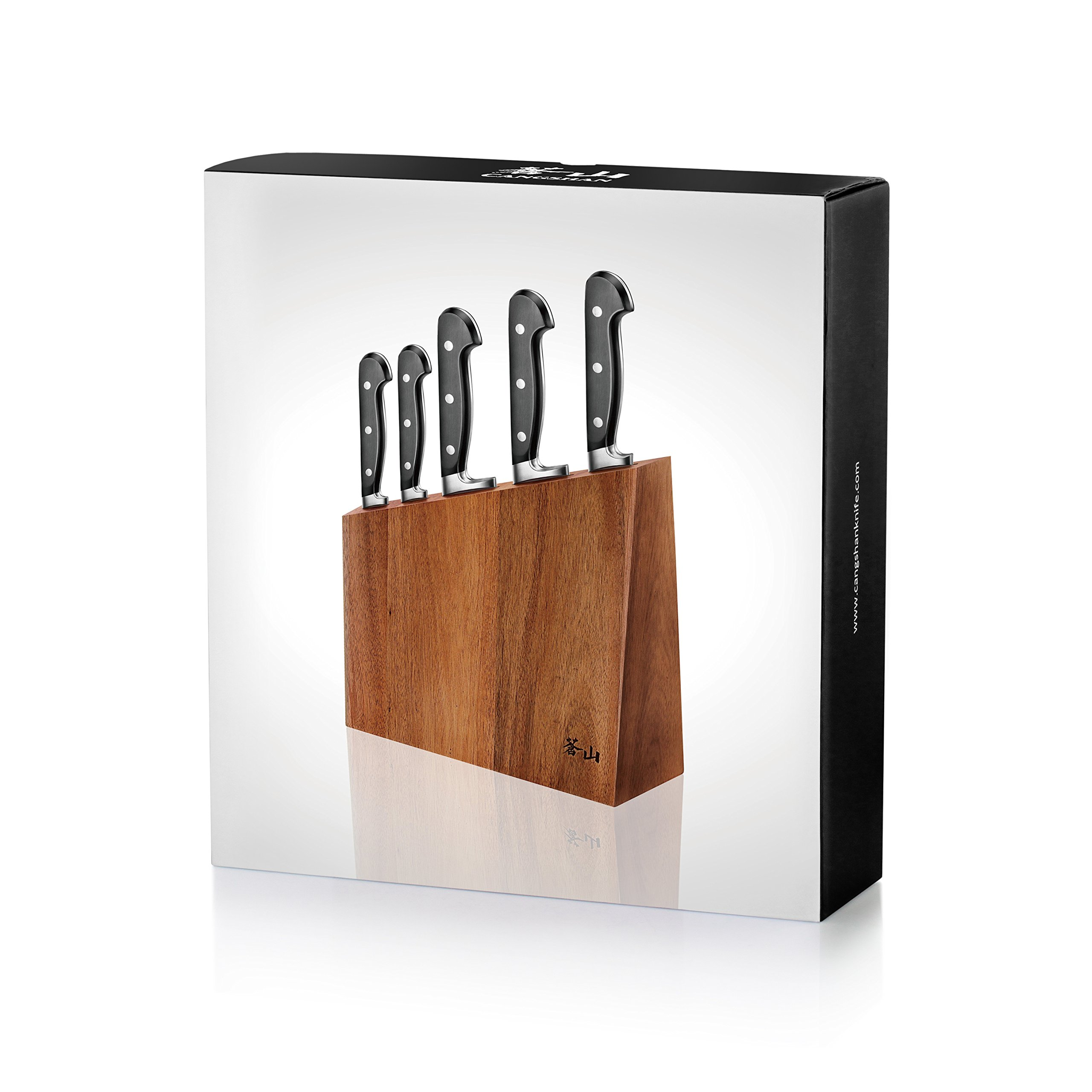 Cangshan V2 Series 59908 6-Piece German Steel Forged Knife Block Set by Cangshan (Image #9)