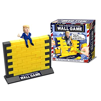 The Trump Presidential Wall Game - MAGA: Toys & Games