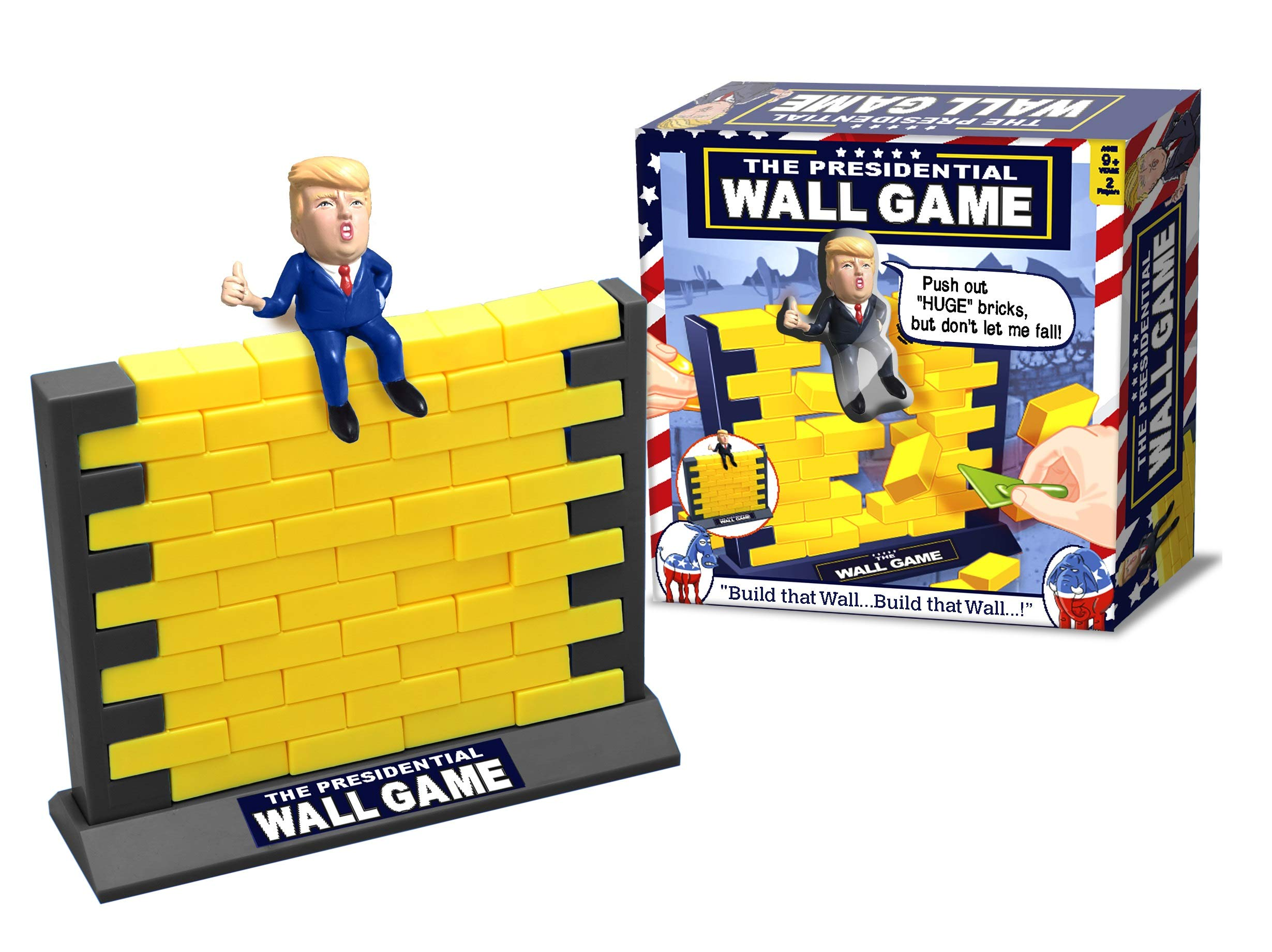 The Trump Presidential Wall Game - MAGA by New Entertainment
