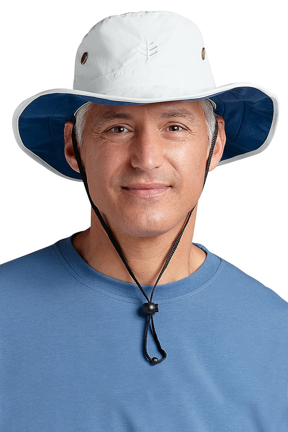 2e12e157757 Coolibar Men s Extra Wide Brim Sun Hat - UPF50+ Sun Protection (Large Extra  Large (fits up to 61 cm)