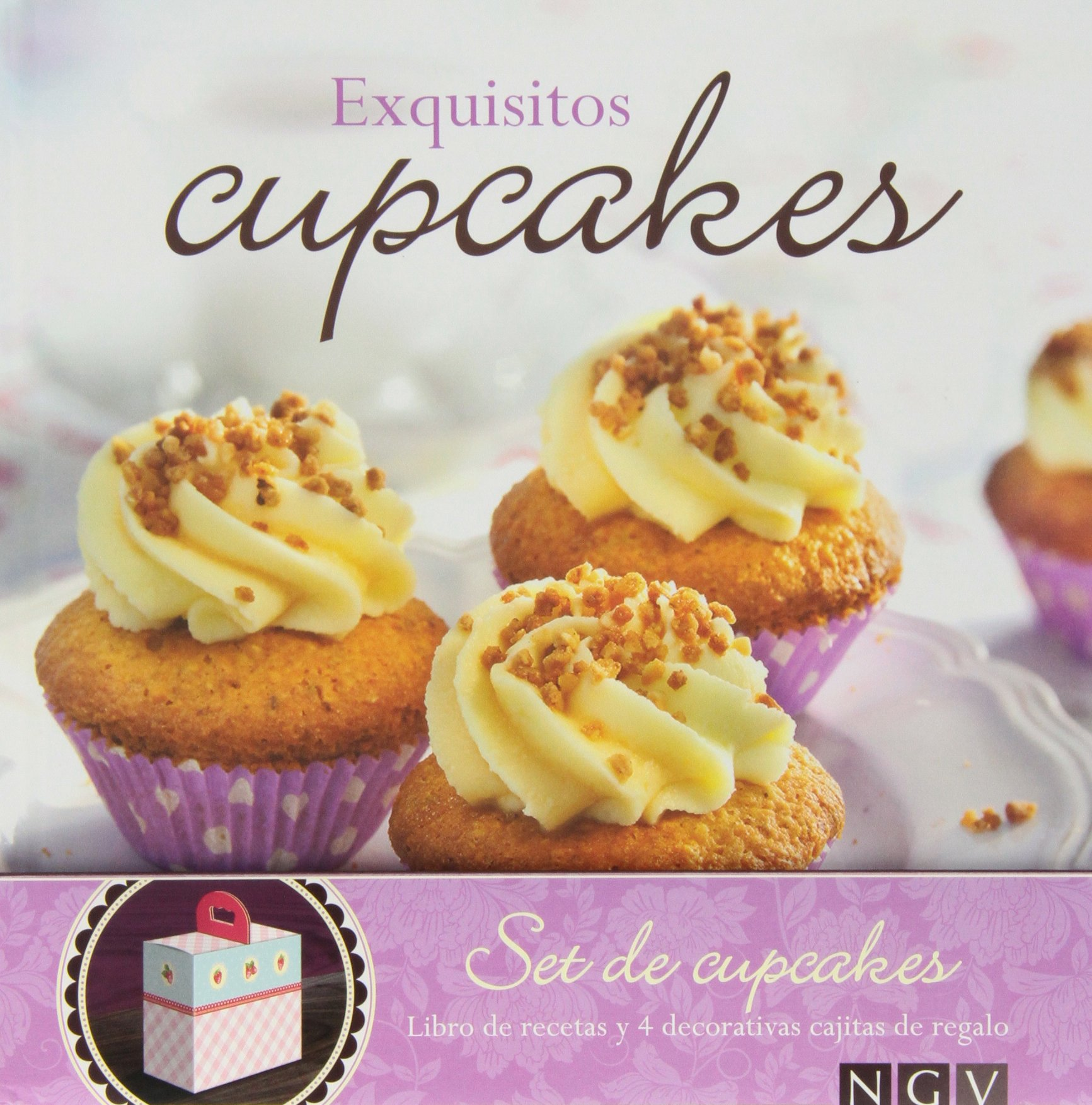 Exquisitos Cupcakes (Spanish) Paperback – 2013