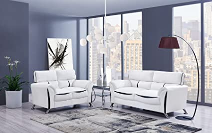 Amazon.com : G9100 White U9100 white pvc casual style ...