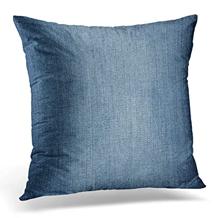 amazon com emvency throw pillow covers navy abstract denim jeans
