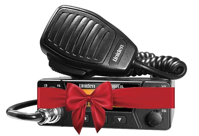 Uniden PRO505XL 40-Channel CB Radio  Pro-Series, Compact Design  Public  Address (PA) Function  Instant Emergency Channel 9, External Speaker Jack,