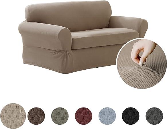 Amazon.com: Maytex Pixel Stretch Cobertor elastizado de 2 ...
