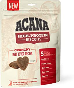 ACANA Crunchy Biscuits Dog Treats and Dog Food
