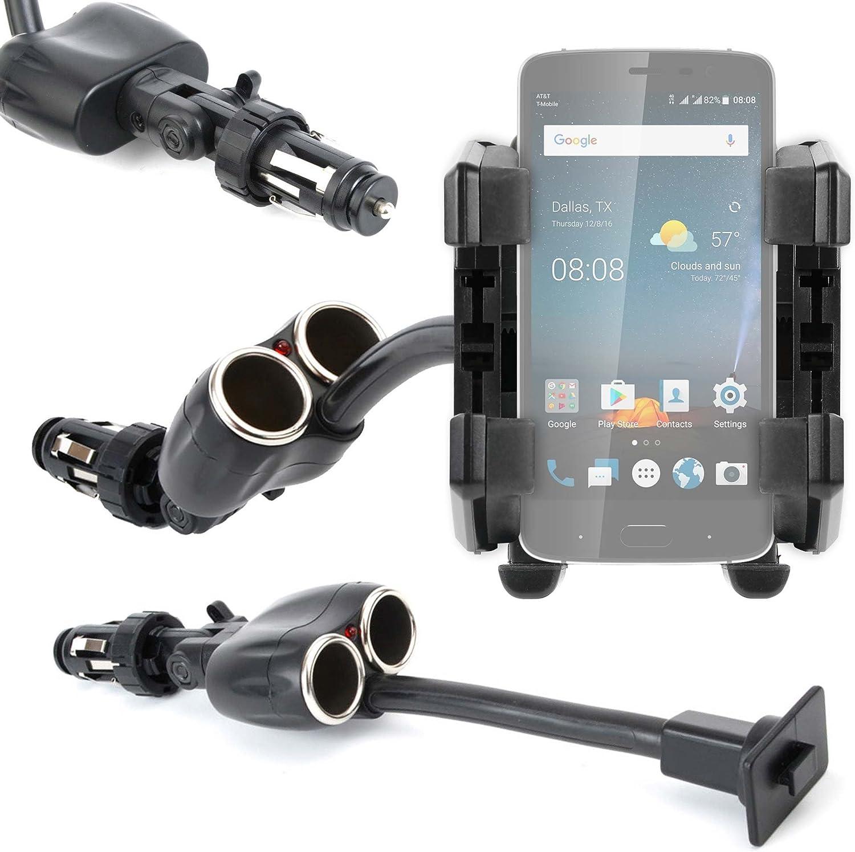DURAGADGET Soporte De Coche Flexible para Smartphone Fusion5 Gen ...