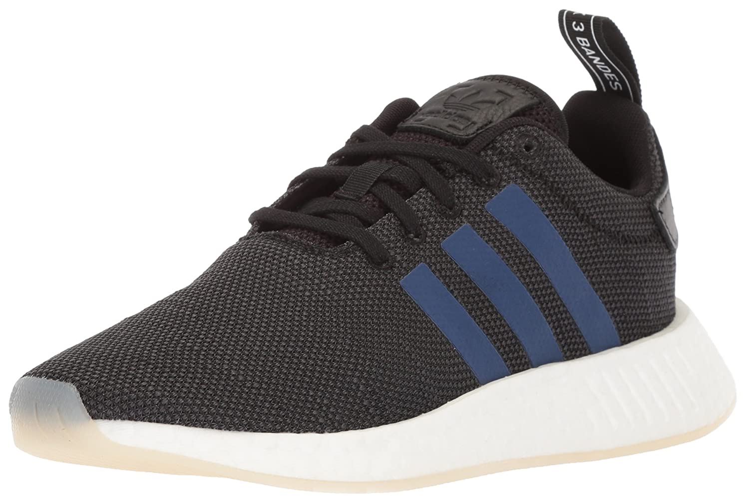 adidas Originals Women's NMD_R2 Running Shoe B078XKK22B 11 B(M) US|Black/Noble Indigo/White