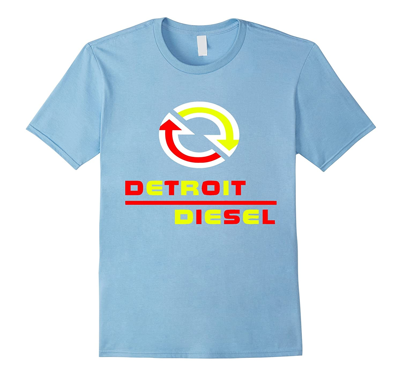 Detroit diesel t shirt-BN