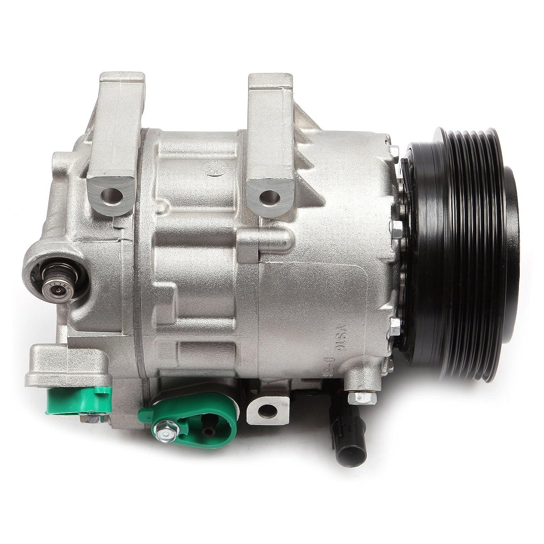 Scitoo a/c compresor for2007 - 2009 Hyundai Santa Fe 2.7l2007 - 2009 Hyundai Santa Fe 3.3L: Amazon.es: Coche y moto