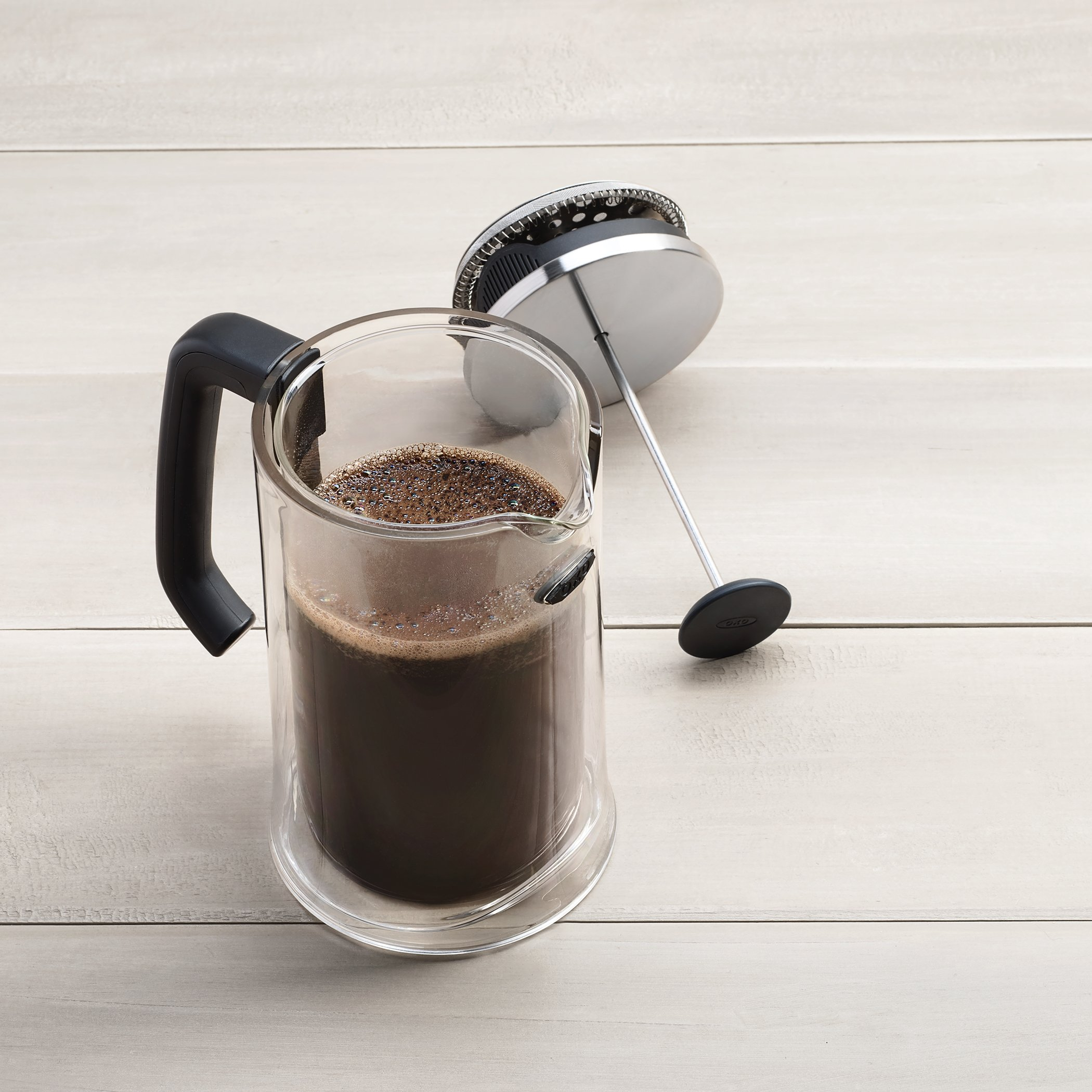 OXO Good Grips Sugar Dispenser with Impact Double Wall French Press Bundle by OXO (Image #4)