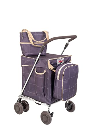 Courses 'mulberry' Sholley De Pliable ChariotCaddie Panier Luxe OPn0k8Xw