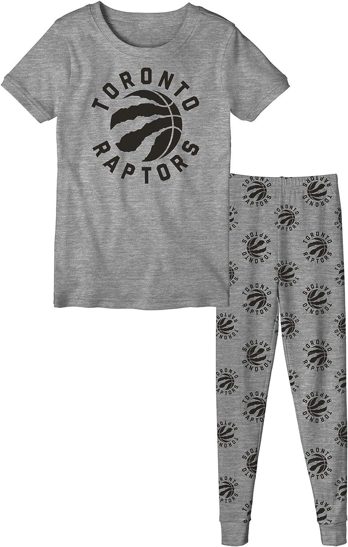 Youth Toronto Raptors Long Sleeve T-Shirt /& Pants Sleep Set