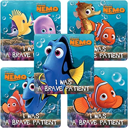 2 Sheets! Disney Finding NEMO Scrapbook Stickers