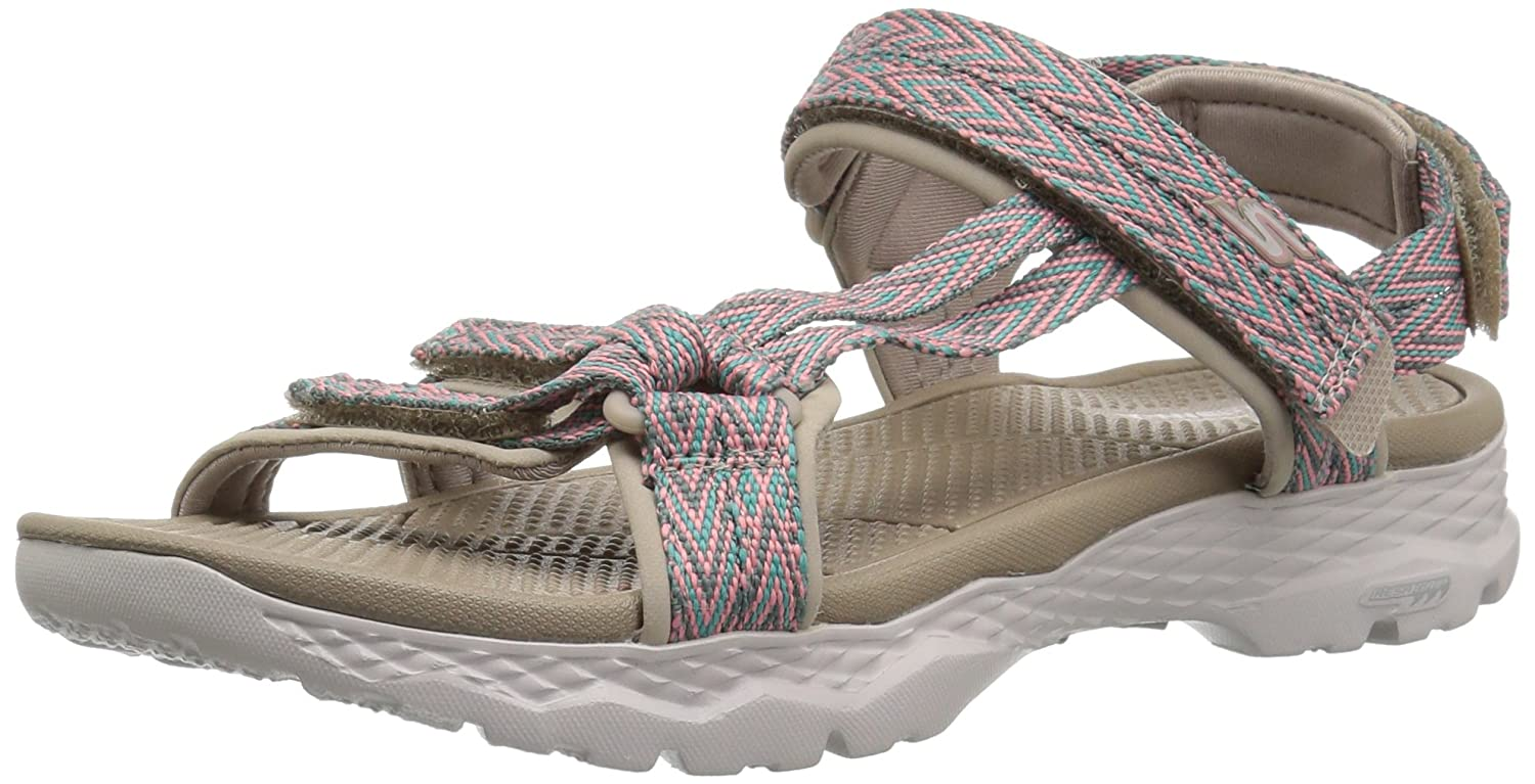 Skechers Women's Go Walk Outdoors-Runyon Sport Sandal B072T3M17L 5 B(M) US|Taupe