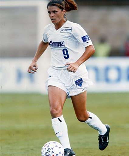 396bdc6b4ba Image Unavailable. Image not available for. Color  MIA HAMM USA WOMENS  SOCCER ...