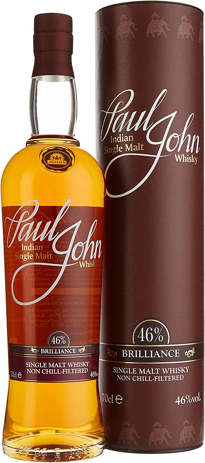 Paul John Brilliance Indian Single Malt Indischer Whisky