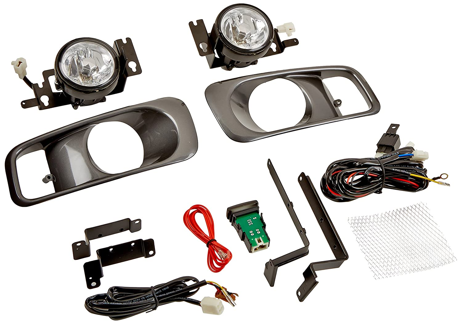 Spec-D Tuning LF-CV99OEM-WJ Clear Fog Light