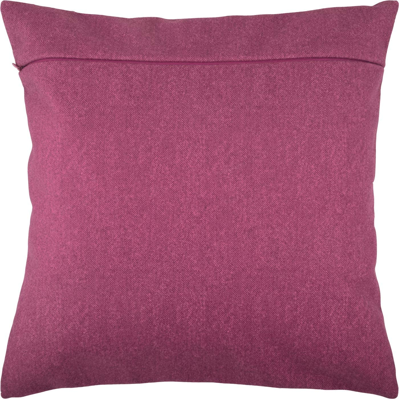 with Zipper Purple Backing for Throw Pillow Kits 16 /× 16 inches Eggplant from Europe