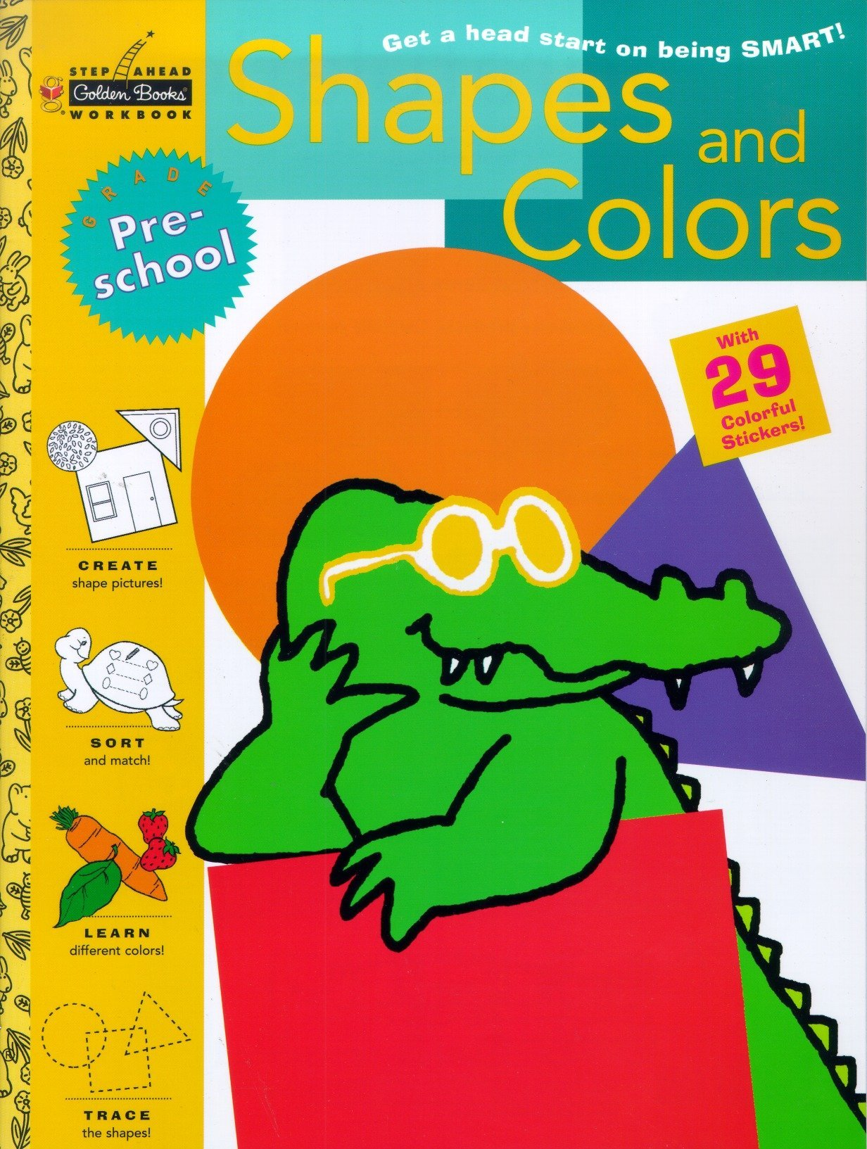 Amazon.com: Shapes and Colors (Preschool) (Step Ahead ...