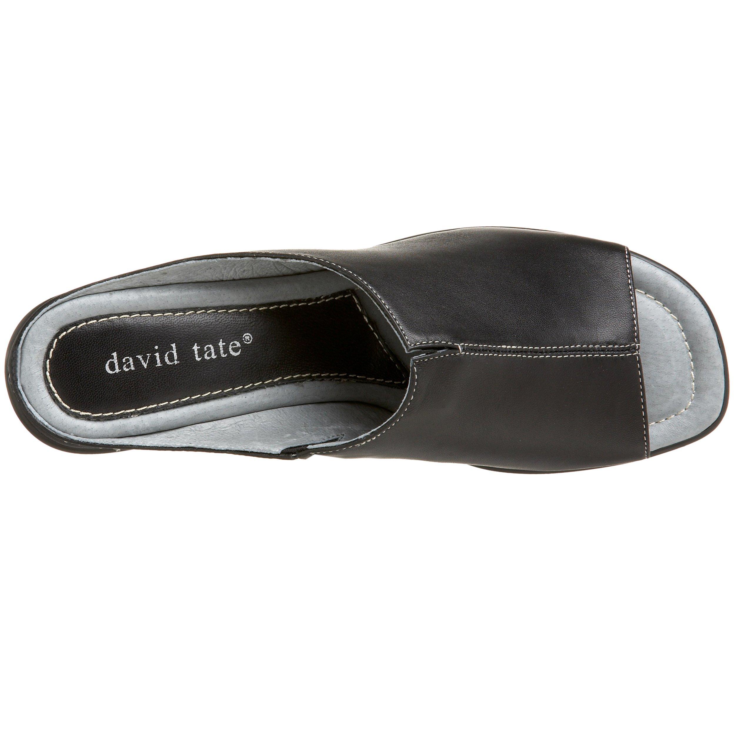 David Tate Women's Gloria Slide Sandal,Black Lamb,7 M US by David Tate (Image #7)
