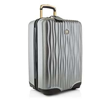 Joy Mangano Jm Hardside Medium Luggage Platinum - Equipaje ...