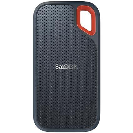 SanDisk 2TB Extreme Portable External SSD - USB-C, USB 3 1 -  SDSSDE60-2T00-G25