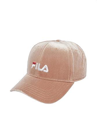 Fila Damen Snapback Caps Line Panel Velvet rosa Verstellbar: Amazon ...
