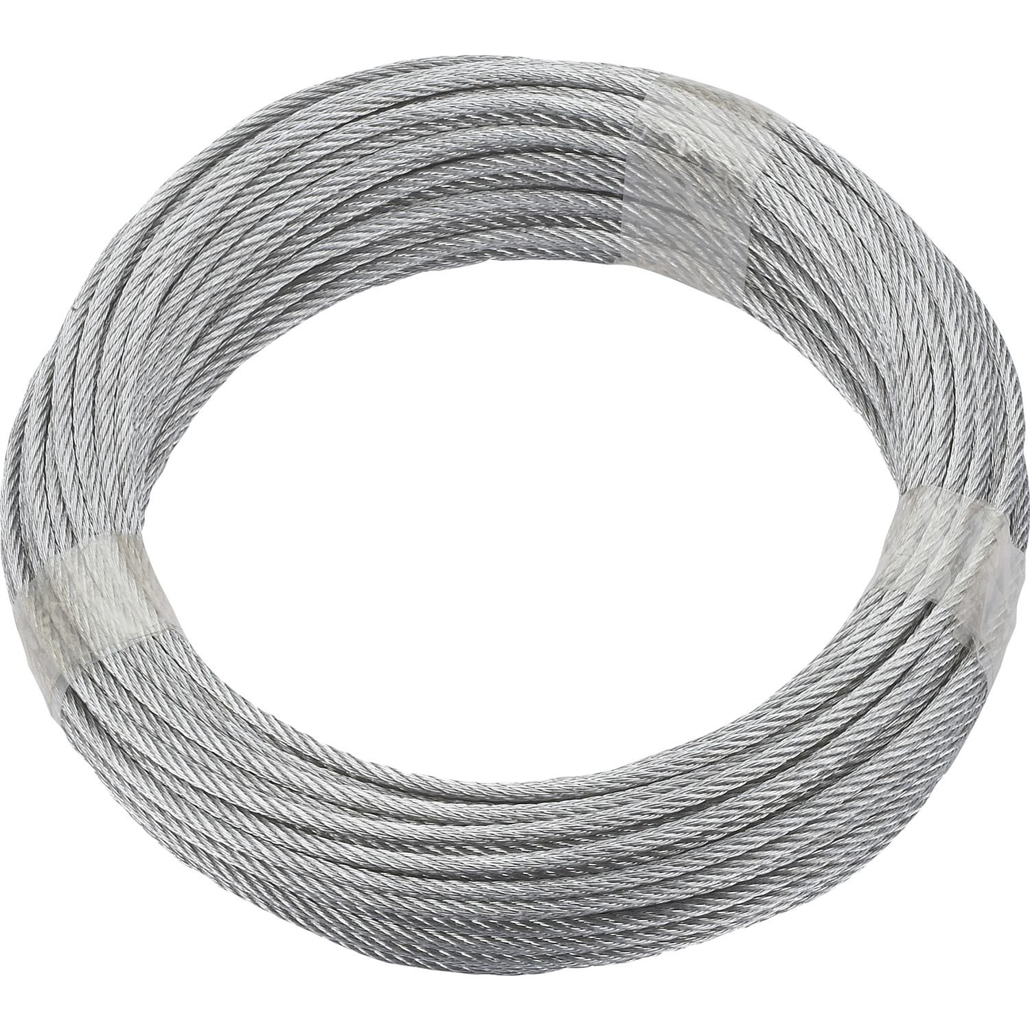 Quick-Fit Wire Rope Stainless Steel V4 A, Diameter 3 mm Length 20 m; 7 x 7, 190391 Diameter 3 mm Length 20 m; 7 x 7 Dörner + Helmer