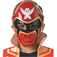 Rubie's Officieel kostuum Saban – accessoire voor kostuum, vast masker Power Rangers Super Mega Force – I-36733