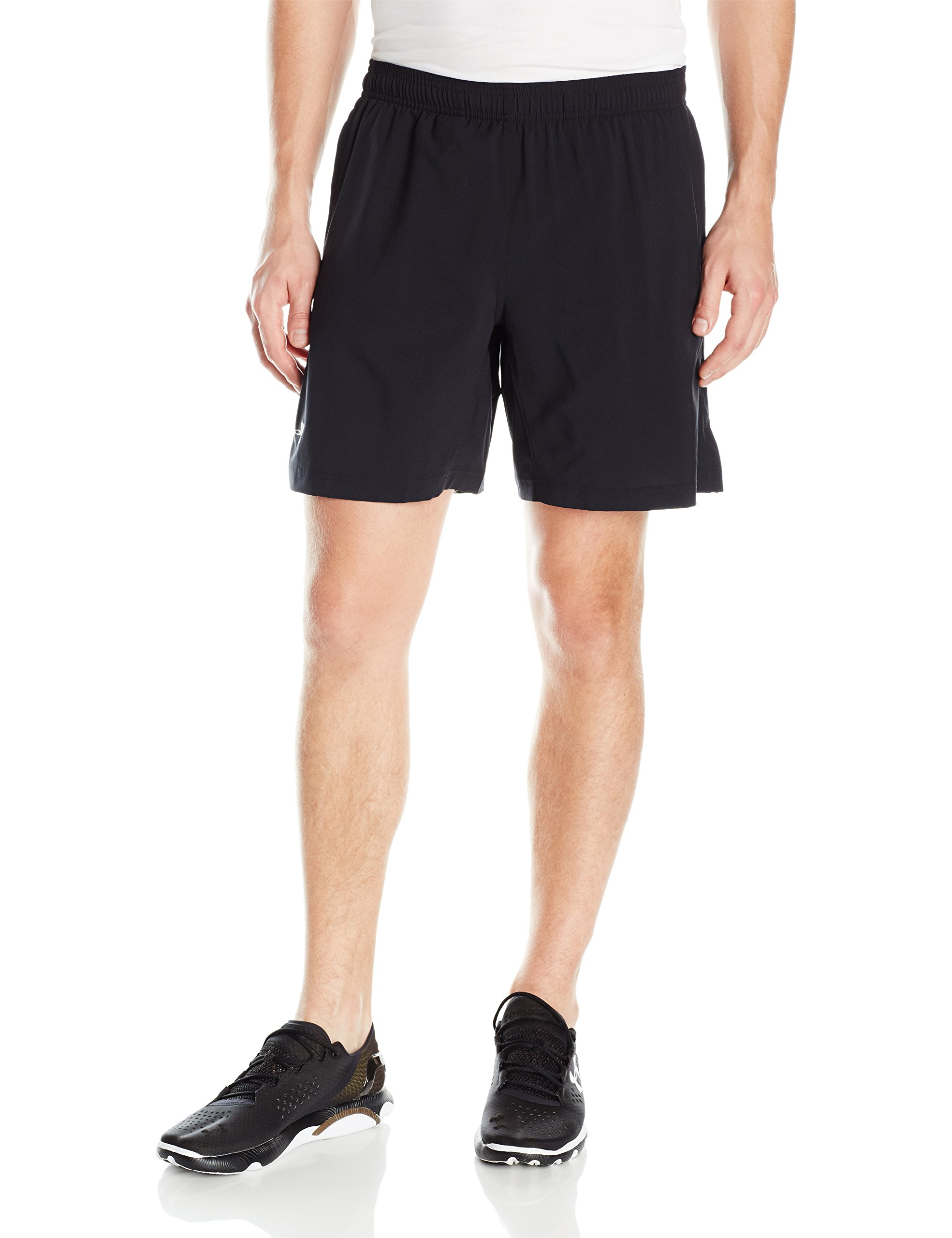 Under Armour Men's Launch 2-in-1 Shorts, Black (001)/Reflective, Small